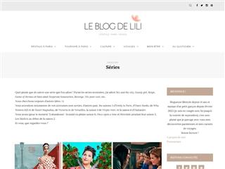 Le Blog de Lili : Séries