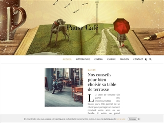 Pause Café avec Audrey : Blogging