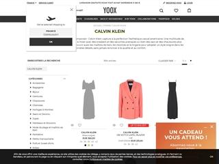 Yoox : Calvin Klein