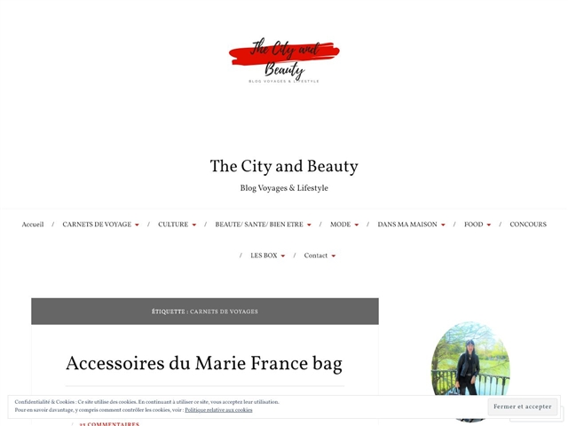The City and Beauty : Carnets de voyages