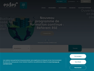 École supérieure de commerce et de management (ESDES)