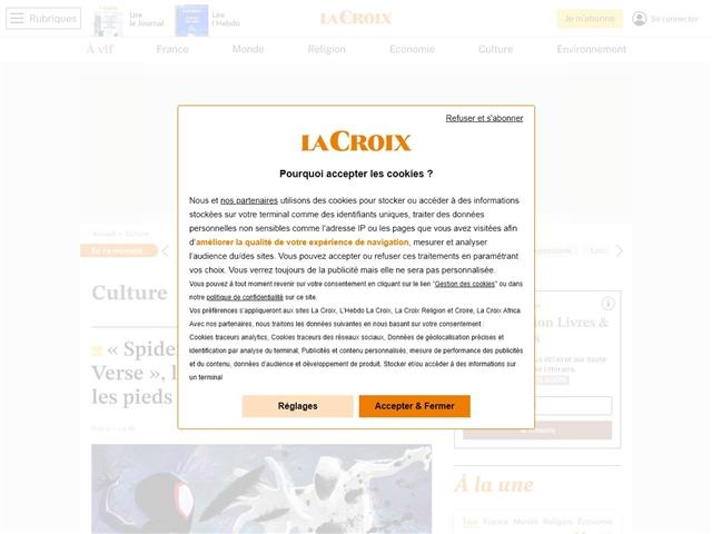 La Croix : Culture