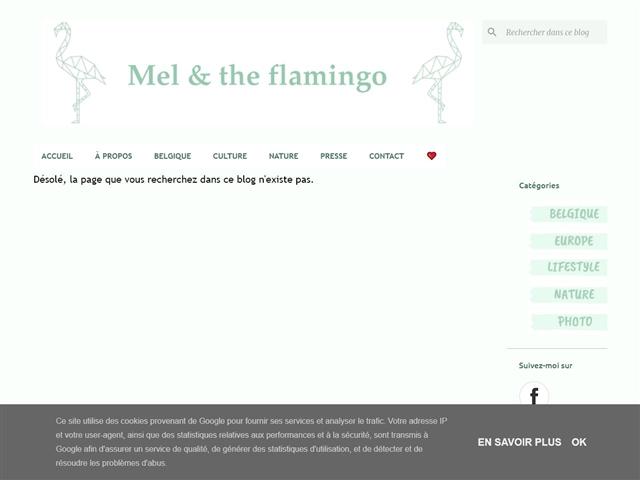 Mel and the Flamingo : City-guide