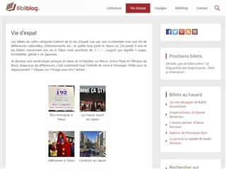 Bibliblog : Vie d'Expat