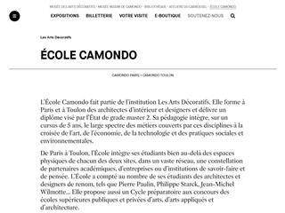 École Camondo