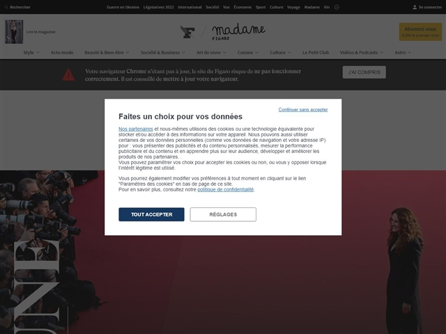 Le Figaro Madame : Mode