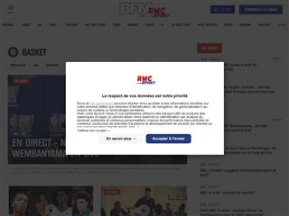 RMC Sport : Basket