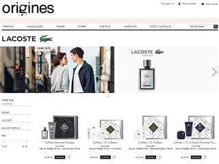 Origines Parfums : Lacoste