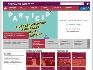 Loiret (45) - Archives départementales