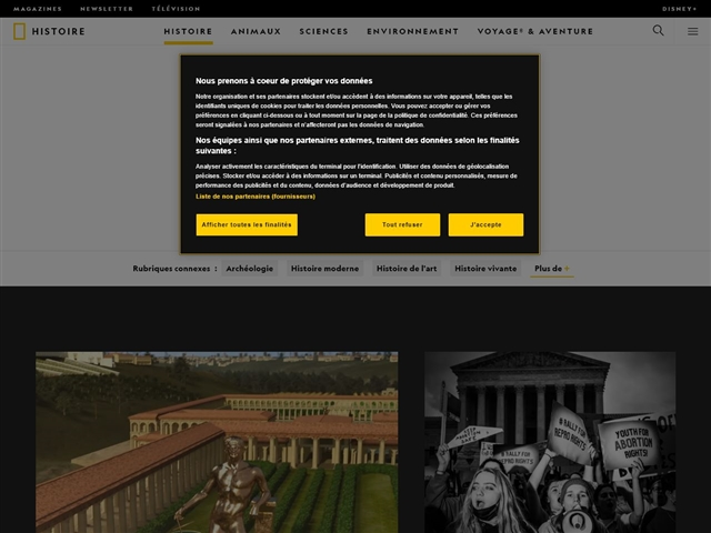 National Geographic : Histoire