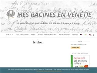 Mes racines en Vénétie