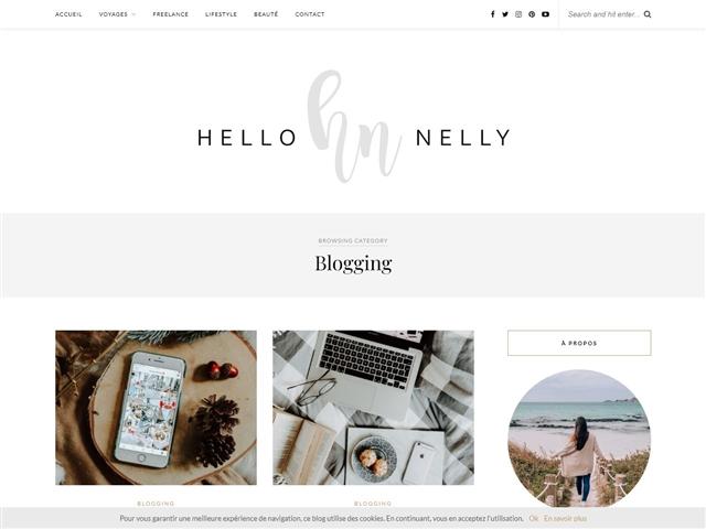 Hello Nelly : Blogging