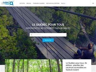 La Route Accessible - Le Québec pour Tous