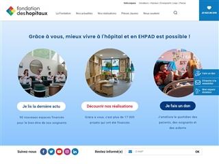 Fondation Hôpitaux de Paris - Hôpitaux de France