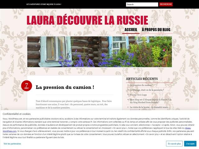 Laura découvre la Russie