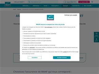 MAAF : Assurance vie