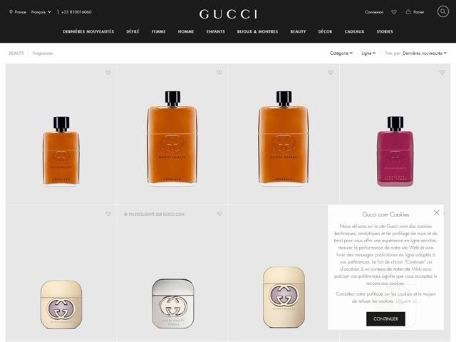 Gucci : Parfums