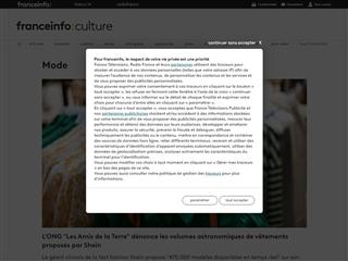 FranceTV Info : Culture : Mode