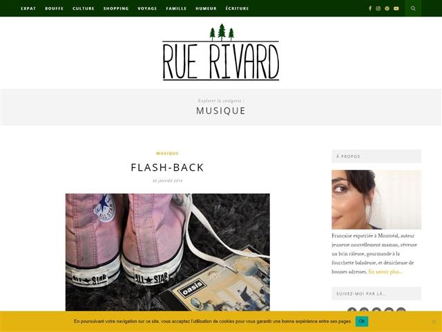 Rue Rivard : Musique