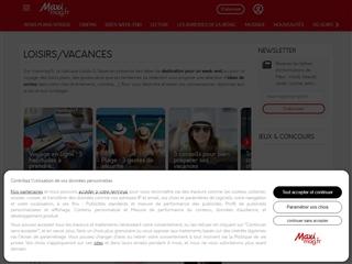 MaxiMag : Loisirs / Vacances