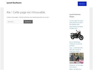 Blog de Lyonel Kaufmann