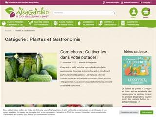 Blog de AlsaGarden : plantes et gastronomie