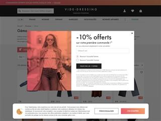 Videdressing.com : Gémo