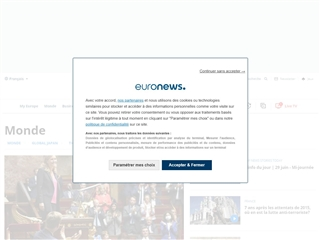 Euronews : Actualité Intenationale