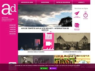 Saône-et-Loire (71) - Archives départementales
