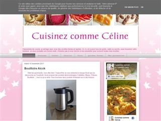 Cuisinez comme Céline