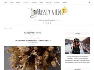 Le Blog de Morissey Wilde : Food