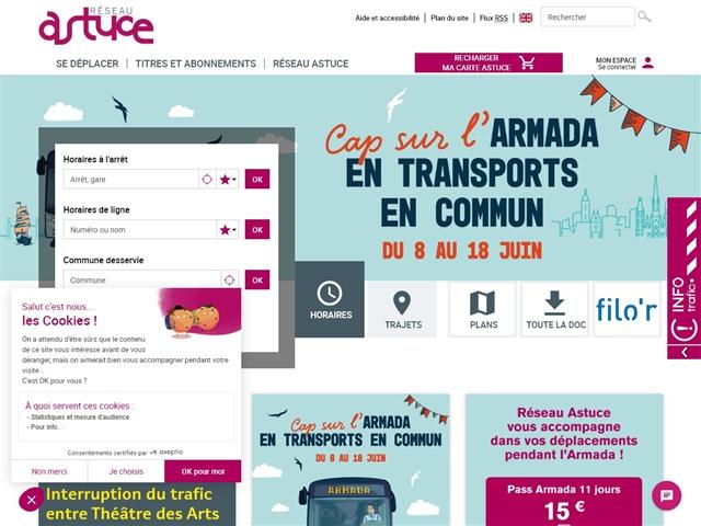 Rouen : Réseau Astuce