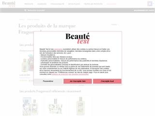 Beauté-Test : Fragonard