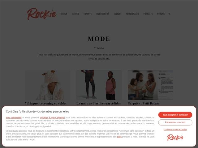 Rockie Mag : Mode