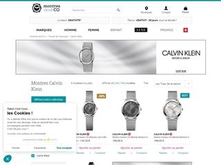 Montres & Co : Calvin Klein