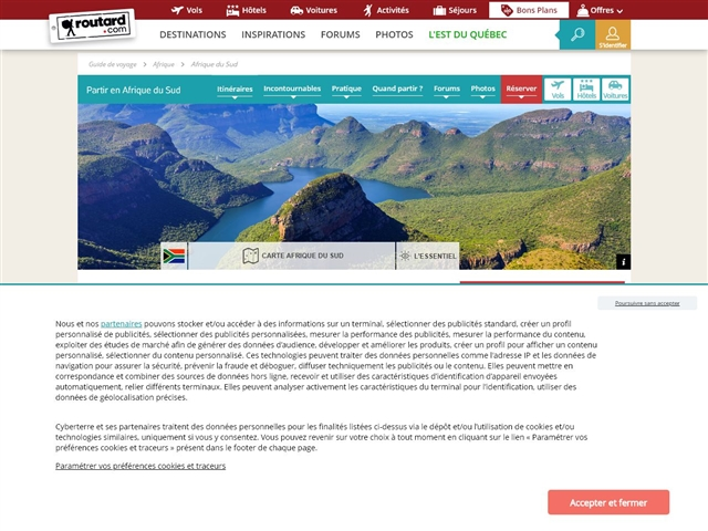 Routard.com : Afrique du Sud