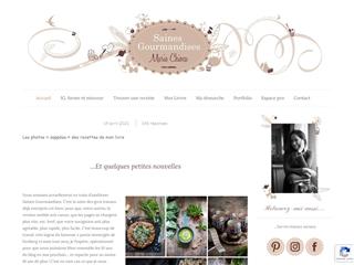 Saines Gourmandises - Marie Chioca