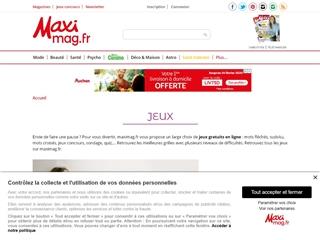 MAXImag : Jeux