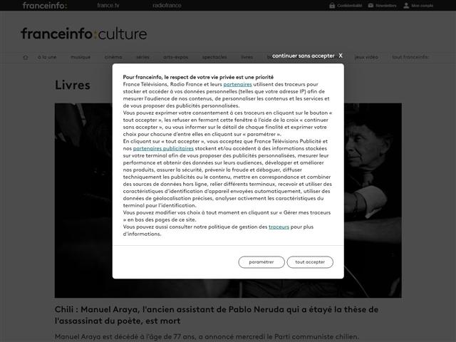 FranceTV Info : Culture : Livres