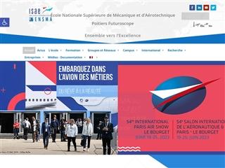 École nationale supérieure de mécanique et d'aérotechnique de Poitiers (ENSMA)