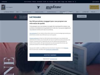 Madame Figaro : Education
