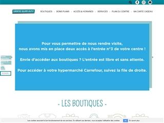 Centre commercial Carrefour Grand Quetigny