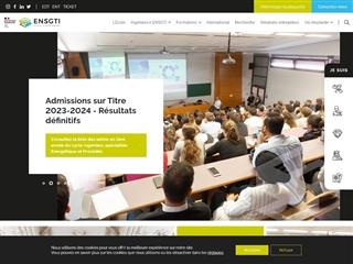 École nationale supérieure en génie des technologies industrielles (ENSGTI)