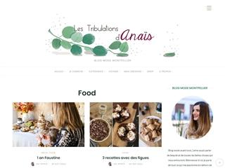 Les Tribulations d'Anaïs : Food