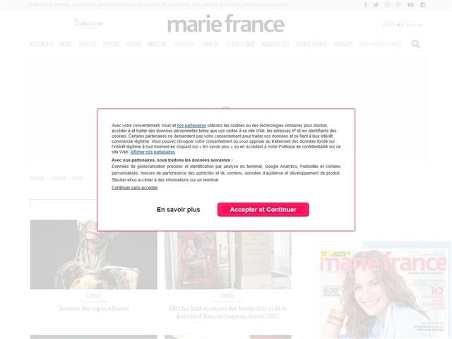 Marie France : Expos