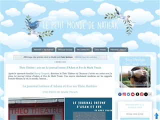 Le Petit Monde de NatieAK : Lecture