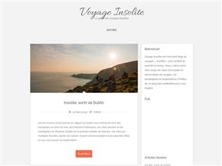 Voyage insolite