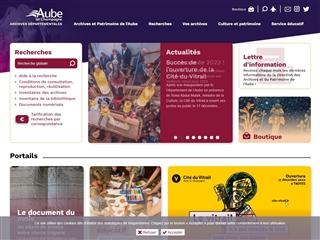 Aube (10) - Archives départementales