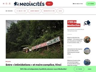 Médiacités : Lyon