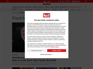 Paris Match : Royal Blog
